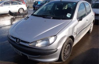 Peugeot 206 Mk1 used car parts for sale Liverpool. Scrap my car Liverpool
